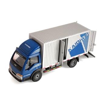 仿真箱式載貨車模型玩具