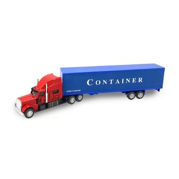 美式集裝箱運輸車仿真玩具