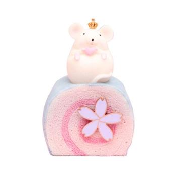萌寵小胖鼠旋轉復古八音盒