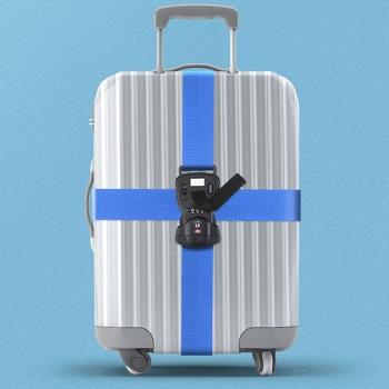 TSA密碼鎖行李帶(連秤)