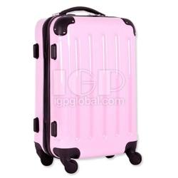 條紋行李箱