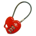 Heart-shaped Customs Lock