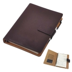 Leather Business Loose-leaf Notebook