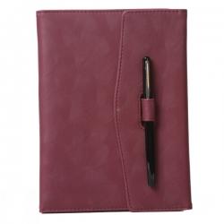 筆插扣筆記本