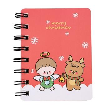 聖誕簡約A6筆記本