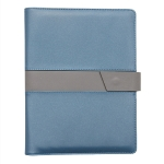 Color-blocking Loose-leaf Business Notebook