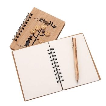 創意文具木質筆記本