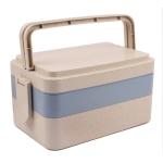 小麥提手三層餐盒