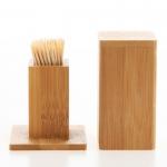 Bamboo toothpick box