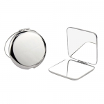 Portable double-sided makeup mirror