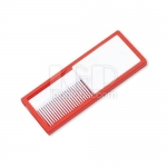 Portable comb mirror
