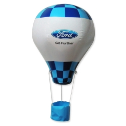 迷你充氣熱氣球