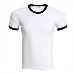 圓領彩邊T恤
