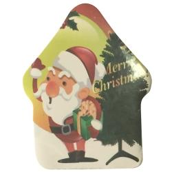卡通聖誕老人壓縮毛巾