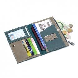 防水真皮護照包證件套