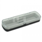 Transparent Cover Plastic Pen Box
