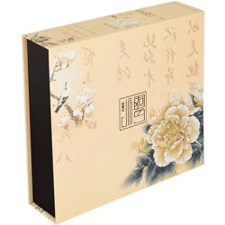花鳥月餅連體禮品盒