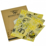 Organic cotton beeswax cloth