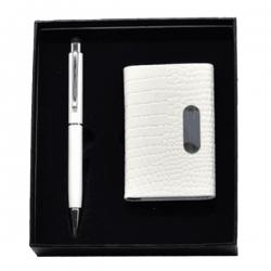 名片夾+簽字筆兩件套