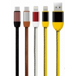 Leather Apple Data Cable