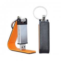 皮套鑰匙扣USB