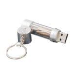 Storage tube key chain USB