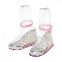 高幫長款防滑雨鞋套