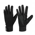 Black ultra fiber gardening gloves