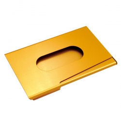 腰孔推式名片盒