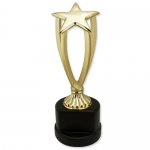 Five-pointed Star Metal Trophy