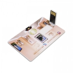 Slim card USB flash drive