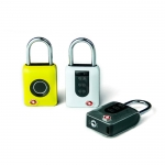 Smart electronic fingerprint padlock