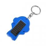 人形太陽能手電筒