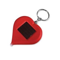 心形太陽能手電筒
