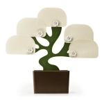 Bonsai Magnetic Memo Pad Holder