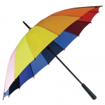 16-bone Rainbow Straight Rod Umbrella
