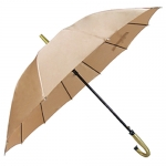 12-bone Single Color Straight Rod Umbrella