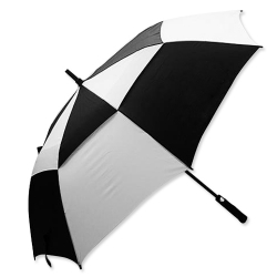 黑白廣告傘