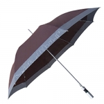 Mixed Color Straight Rod Business Umbrella