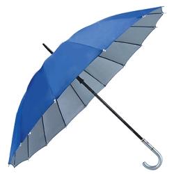 16骨銀膠內層直桿雨傘