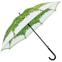清新印花直桿傘