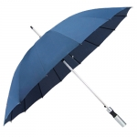 16-bone Single Color Straight Rod Umbrella