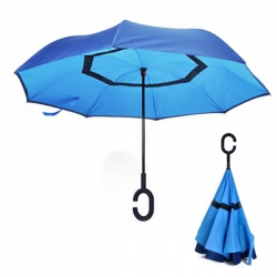 C型柄網紗方向傘