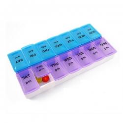 14格塑料時間藥盒