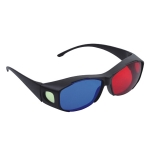 Two-color PC Lens 3D Glasses
