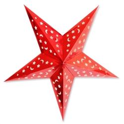 五角星紙燈籠