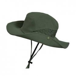 大檐網布透氣遮陽漁夫帽