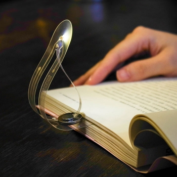 超薄LED摺疊書籤燈
