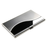 Curved Metal Card Case