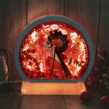 3D光影紙雕燈